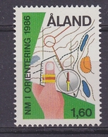 Aland 1986 Nordic Championship Orienteering 1v ** Mnh (43938C) - Aland