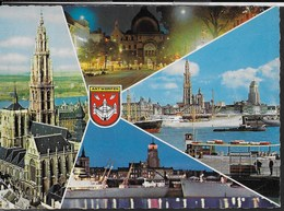 BELGIO ANTWERPEN - VIAGGIATA 1966 - ANNULLO A TARGHETTA - Antwerpen
