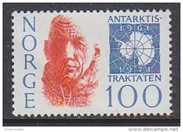 Norway 1971 Antarctic Treaty 1v ** Mnh (43938D) - Ongebruikt
