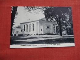 Presbyterian Church  Washingtonville - New York  .   Ref 3522 - NY - New York