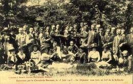 54 - BACCARAT - EXCURSION DE LA CHORALE - DEJEUNER SOUS BOIS AU COL DE LA SCHLUCHT / A 514 - Baccarat