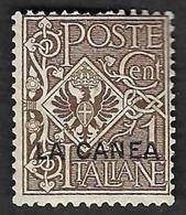 ITALIE  - La CANEA   1906 - YT 5  - NEUF* - La Canea