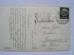 1941 DR Postkarte Pmk 2. Kriegs-WHW - Briefe U. Dokumente