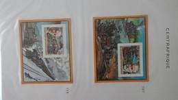 Thématique Chemins De Fers De 74  Blocs Et Bandes  ** (Tome 1). A Saisir !!! - Stamps