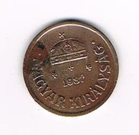 //  HONGARIJE  2  FILLER  1937 BP - Hongrie