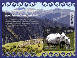 BHOUTAN Bloc Année Lunaire /Mouton Neuf ** MNH - Bhoutan