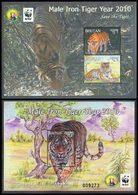 BHOUTAN 2Blocs Année Du Tigre 2010 Neuf ** MNH - Bhoutan
