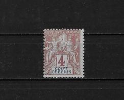 BENIN - N° 22 - NEUF** - Bénin (1892-1894)