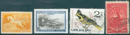 URUGUAY - Small Lot  4 Values - Uruguay