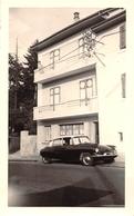 """THONON   -  Cliché D'une Voiture Citroën """" D.S """" Devant Un Immeuble En 1962  -  Voir Description - Thonon-les-Bains"""