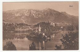 Bled Old Postcard Unused B190801 - Slowenien