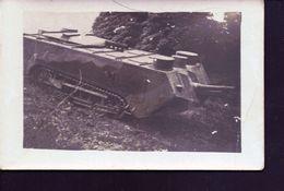Carte D'un Tank - Guerre 1914-18