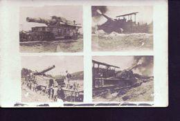 Carte 4 Vues De Canon - Guerre 1914-18
