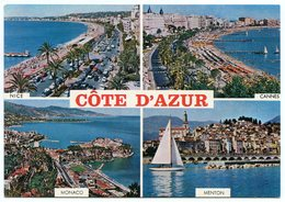 POSTCARD COTE D'AZUR-FRENCH RIVIERA - Frankrijk