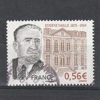 France Oblitéré  2009  N° 4391  Personnalité.  Eugène Vaillé - France
