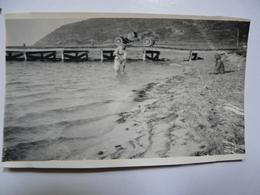 PHOTOGRAPHIE ANCIENNE - TUNISIE - SIDI RAÏS : Scène Animée Et Voiture - Automobili