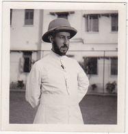 Photographie Amateur / Homme, Casque Colonial / Calcutta 1936 - Personnes Identifiées