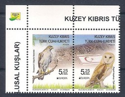 Cipro Turca TURKISH CYPRUS 2019 * Europa - National Birds: Pair (MNH) - As Scan - 2019