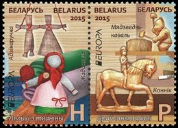 BIELORUSSIE Europa 2015 2v Neuf ** MNH - Bielorrusia