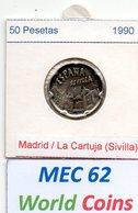 MEC 62 - REPUBLICA ESPANHOLA 50 PESETAS 1990 - Spanien