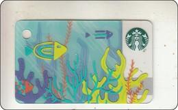 Thailand Starbucks Card Under Water  2017 - 6151 - Gift Cards