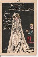L60A085 - Ô Hymen!.... Carte Humoristique - Norwins - Eureka - Humour