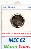 MEC 62 - REPUBLICA ESPANHOLA 50 PESETAS 1992 - Spanien