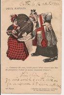 L60A086 - Carte Humoristique - Deux Rapiats - Collection Du Journal Les Corbeaux N°133 - Humour