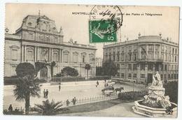 CPA [34] Hérault > Montpellier - Préfecture Et Hôtel Des Postes Et Télégrammes - Montpellier