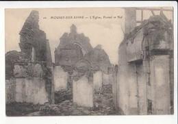 CPA France 02 - Moussy Sur Aisne - L'Eglise , Portail Et Nef   :   Achat Immédiat - Guerre 1914-18