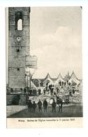 Wiers - Ruines De L'Eglise Incendiée Le 11 Janvier 1910 - Péruwelz