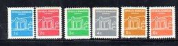 APR2037 - REPUBBLICA DOMINICANA 1967 , Serie Yvert N.  648/653   ***  MNH  (2380A) - Repubblica Domenicana