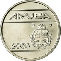 Monnaie, Aruba, Beatrix, 25 Cents, 2006, Utrecht, SUP, Nickel Bonded Steel, KM:3 - [ 4] Colonies