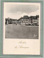 CPSM Dentelée - SENONES (88) - Aspect Du Monument Aux Morts Sur La Place Clemenceau Dans Les Années 50 - Senones