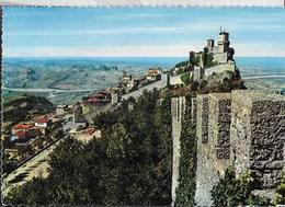 SAN MARINO - LA ROCCA - NUOVA CON FRANCOBOLLI SOUVENIR - San Marino