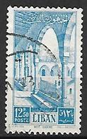 LIBAN    -    Poste Aérienne   -   Beït - Eddine.   Oblitéré - Liban