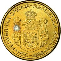 Monnaie, Serbie, 2 Dinara, 2006, SUP, Nickel-brass, KM:46 - Serbie
