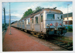 FRANCIA  CHARTRES AU MANS     TRAIN- ZUG- TREIN- TRENI- GARE- BAHNHOF- STATION- STAZIONI   2 SCAN  (NUOVA) - Treni