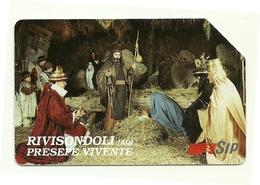 Italia - Tessera Telefonica Da 15.000 Lire N. 275 - 30/06/95 Presepe Vivente - Natale