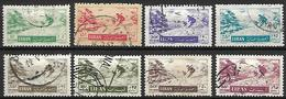 LIBAN    -    Poste Aérienne   -  Skieurs De Descente.   Oblitérés - Liban