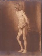 Rembrandt Reproduction 20/16,5 Cm. Scan R/V. - Photographie