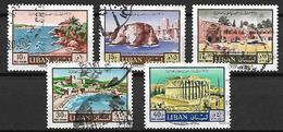 LIBAN    -    Poste Aérienne   -   Année Du Tourisme.   Oblitérés - Liban