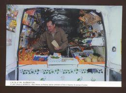Ploerdut (56) : M. Hamon, De Plouray, épicier Ambulant De Fruits Et Légumes De Passage à Locuan - Autres Communes