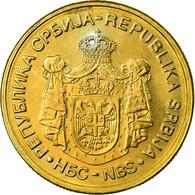 Monnaie, Serbie, 5 Dinara, 2006, SUP, Nickel-brass, KM:40 - Serbie
