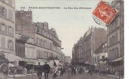 Paris-Montmartre - La Rue Des Abesses - France