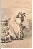 L60A092 - Convalescente - Jeune Femme Allanguie Dans Un Fauteuil - Bergeret? - Women