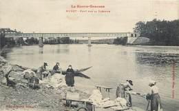 CPA 31 Haute Garonne Muret Pont Sur La Garonne Lanvandières Blanchisseuses Lessive - Muret