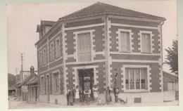 Cpa Incheville Hotel Café - France