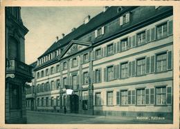 COLMAR Mairie  (croix Gammée Occultée Au Dessus De L'entrée )  Carte Heinrich Hoffamnn STBG - Colmar