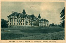CARSPACH  Ecole Ménagère Ed NSDAP BRAUN - Francia